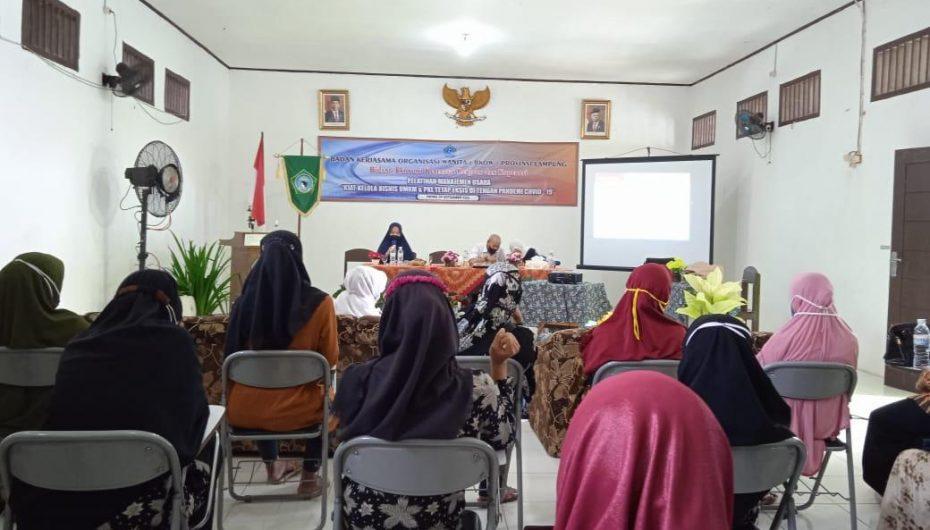 BKOW Lampung Adakan Pelatihan Manajemen Usaha