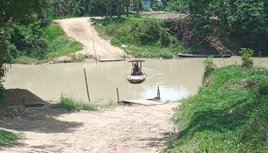 Warga Muji Rahayu Harapkan Jembatan Penghubung Kampung Segera Dibangun
